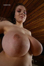 Naked cutie with massive big boobs-10