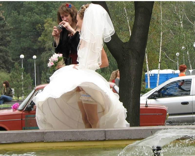 Свадьбы ню фото