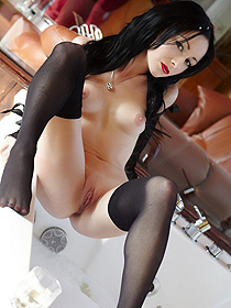 Hot Girl In Stockings