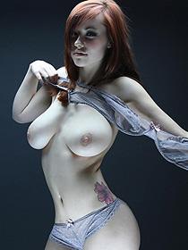 Busty Redhead Elizabeth