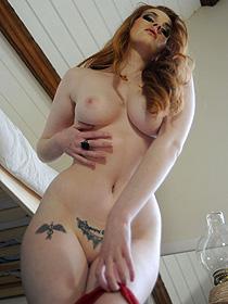 Busty Tattooed Redhead Lisa