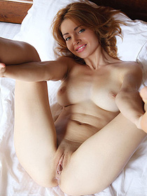 Gorgeous Redhead Teen Kika