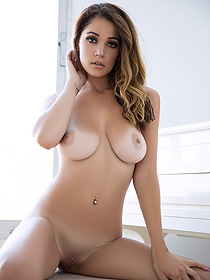 Busty Ali Rose Gets Nude