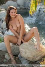 Cosmo Posing Naked Outdoors-05