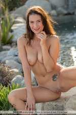 Cosmo Posing Naked Outdoors-06