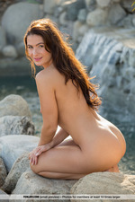 Cosmo Posing Naked Outdoors-07
