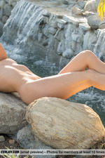 Cosmo Posing Naked Outdoors-10