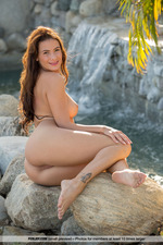 Cosmo Posing Naked Outdoors-12