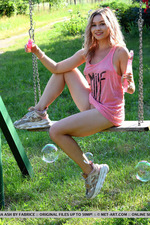 Cute Angelina Ash Having Fun Outdoors-04