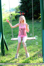 Cute Angelina Ash Having Fun Outdoors-09