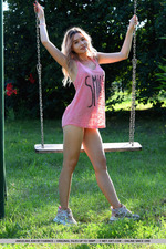 Cute Angelina Ash Having Fun Outdoors-11