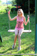 Cute Angelina Ash Having Fun Outdoors-12