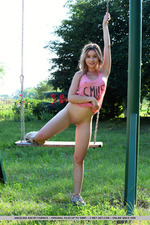 Cute Angelina Ash Having Fun Outdoors-17
