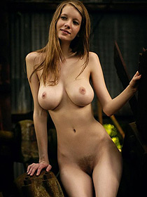 Sweet Busty Valentina Strips