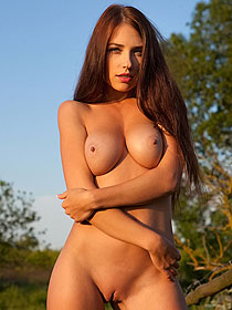 Busty Niemira Shows Her Perfect Body Outdoors