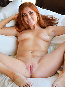 Hot Freckled Jayme Gets Naughty